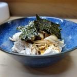 家庭料理 小川 - 鶏わさ
