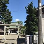 京料理かねき - 近くの浅間神社