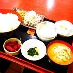 するが食堂 - 料理写真:豚汁定食700円