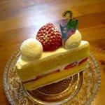 ミズノヤ - 苺のショートケーキ!