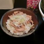 麺や勝治 - チャーシュー丼
