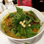 東京担々麺 RAINBOW - グリーン担々麺:880円