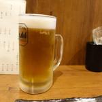 大虎 - 生ビール(530円)
