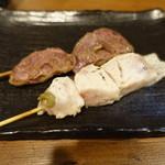 大虎 - ハツ(180円)、胸レア(180円)