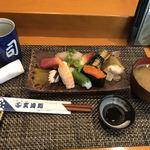 玄海鮨 - 料理写真:竹にぎり(中)=1000円