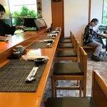 玄海鮨 - 店内をパシャ 土曜日の昼前