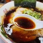 友愛亭 - 濃口たまり醤油の風味が抜群です!!