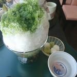 銀座 鹿乃子 - 一緒に桜茶が出てきました!