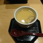 天丼専門 銀座いつき - 茶碗蒸し