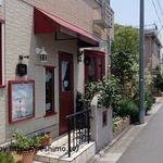 カフェアンジェ - 店入口