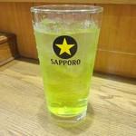 鳥八 - 緑茶ハイ