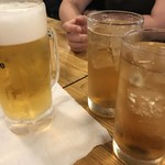 88519596 - ビールと梅酒