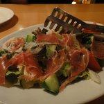 ヒラノグラーノ - セットのサラダ