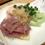 老辺餃子館 - 前菜盛り合わせ