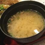 はらいち食堂 - はらいち食堂 味噌汁