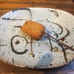 串カツとワイン 海山 - 子持ち昆布