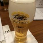 浜ふじ - 生ビール