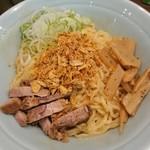 鶏焼肉 菴 - 油そば(大)