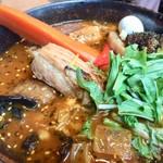星野リゾート リゾナーレ トマム - ランチは「ガラク」でスープカレー