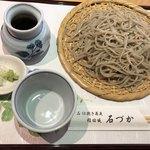 石づか - 手挽き蕎麦@900円