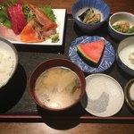 一水亭 - 料理写真:おまかせ刺身定食