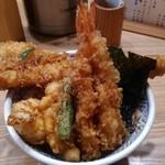 88529815 - 天丼(松)穴子1380円