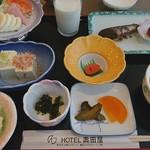 ホテル奥田屋 - 料理写真:朝食(2017/11/29)