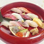 かもめ丸 - 料理写真:おまかせ寿司