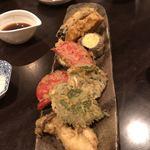 山久 - 野菜の天ぷら
