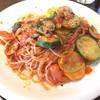 松平パスタ店&バール - 料理写真:マッシュルームとズッキーニのトマトソースパスタ