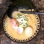 麺恋 佐藤 - 鶏白湯醤油+味玉