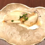 鮨 日本橋 鰤門 - 初夏の牡蠣
