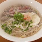 ベトナム食堂フォー・ホア - 自家製牛肉団子のフォー (フォー・ダット・ビット)