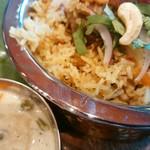 インド食堂 チャラカラ - バスマティライスなり(●´∀`●)