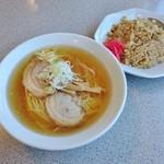 中華そば 来味 - 料理写真:ラーチャン 850円