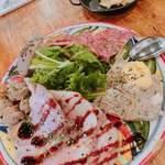 グッドミート・バル YOKOHAMA - お肉の前菜盛り合わせ