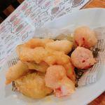 グッドミート・バル YOKOHAMA - 季節野菜のチーズフリット