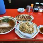長崎うまか亭 - チャーハンセット+餃子