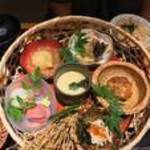 和食や ちそう - 篭盛り和御膳