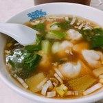 酔園 - 水餃子 スープも餃子も美味しい!