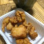 かしわ つるや - 鶏の唐揚げ(小)
