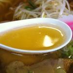 めし・定食 西葉食堂 - 牛骨ラーメン  スープ