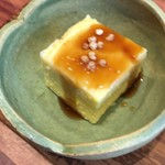 88549627 - トウモロコシのお豆腐