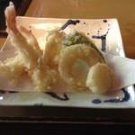 蕎麦 なか原 - 天ぷら盛り合せ