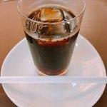 ウエスト ベイカフェ ヨコハマ - ♦︎上記のメニューに飲み物追加 648円(おかわり可) アイスコーヒー!