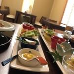 和カフェ ののや - 料理写真:前菜6種盛り