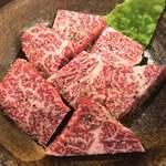 ニクヤキ ギンキョウ - 常陸牛 カイミノ厚切り