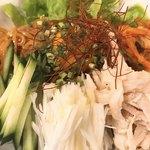 ニクヤキ ギンキョウ - ピビン麺 アップ