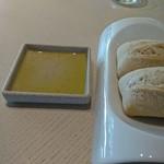 レストラン デュ パルク - 全粒粉のフランスパン