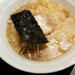 童童 - 魚醤とんこつ白湯麺ハーフサイズ